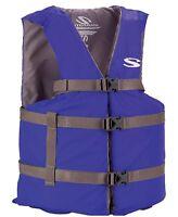 Coleman Stearns Adult Classic Series Universal Life Jacket Flotation Vest - Blue on sale