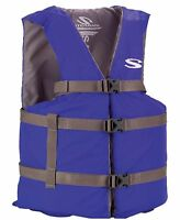 Coleman Stearns Adult Classic Series Universal Life Jacket Flotation Vest - Blue on sale