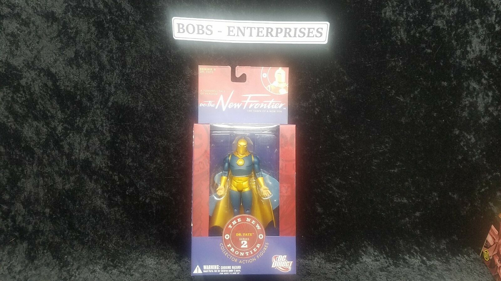DC Direct The New Frontier Dr. Fate Figure NEW FR-14