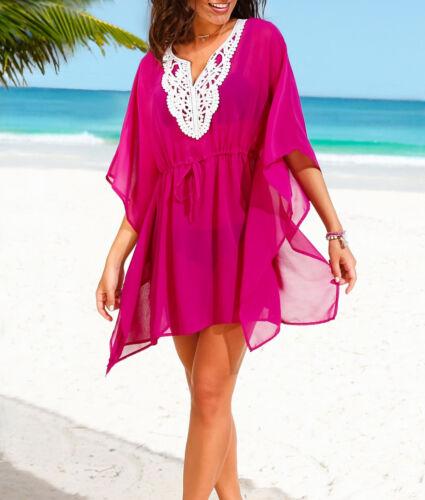 pink 36 38 40 42 44 46 48 50 52 54 Longshirt Strand Tunika Bluse Gr