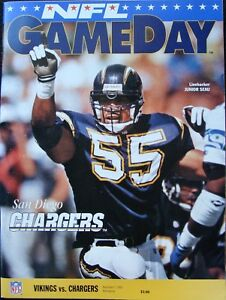 NOV-7-1993-MINNESOTA-VIKINGS-V-S-D-CHARGERS-GAMEDAY-NFL-PROGRAM-METRODOME