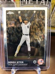 2015-Topps-Chrome-Derek-Jeter-Last-Card-New-York-Yankees-1