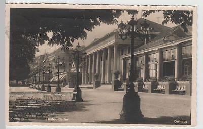 (68191) Foto Ak Baden-baden, Kurhaus 1934 (mit Mi 541) Hohe Belastbarkeit