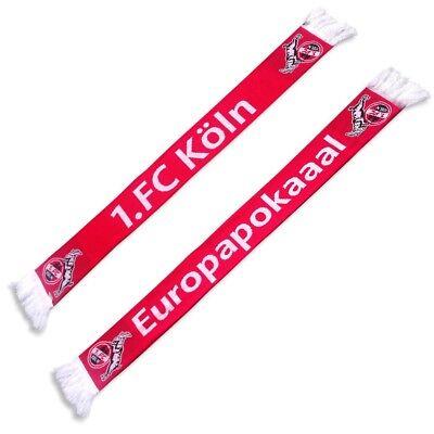 """Schal Fanschal """"europapokaaal"""" 1. Fc Köln Neu"""