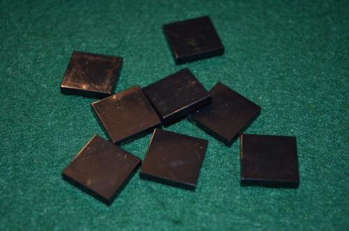 BLACK 2X2 Smooth Finishing Tile Brick Bricks  ~ Lego  ~ NEW 8