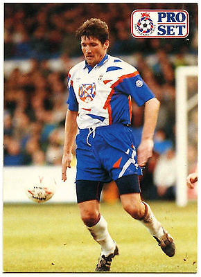 C364 MICK HARFORD Luton Town #283 Pro Set Football 1991-2 Trade Card