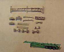 P&D Marsh N Gauge N Scale MV241 40ft Skeletal trailer (3) kit requires painting