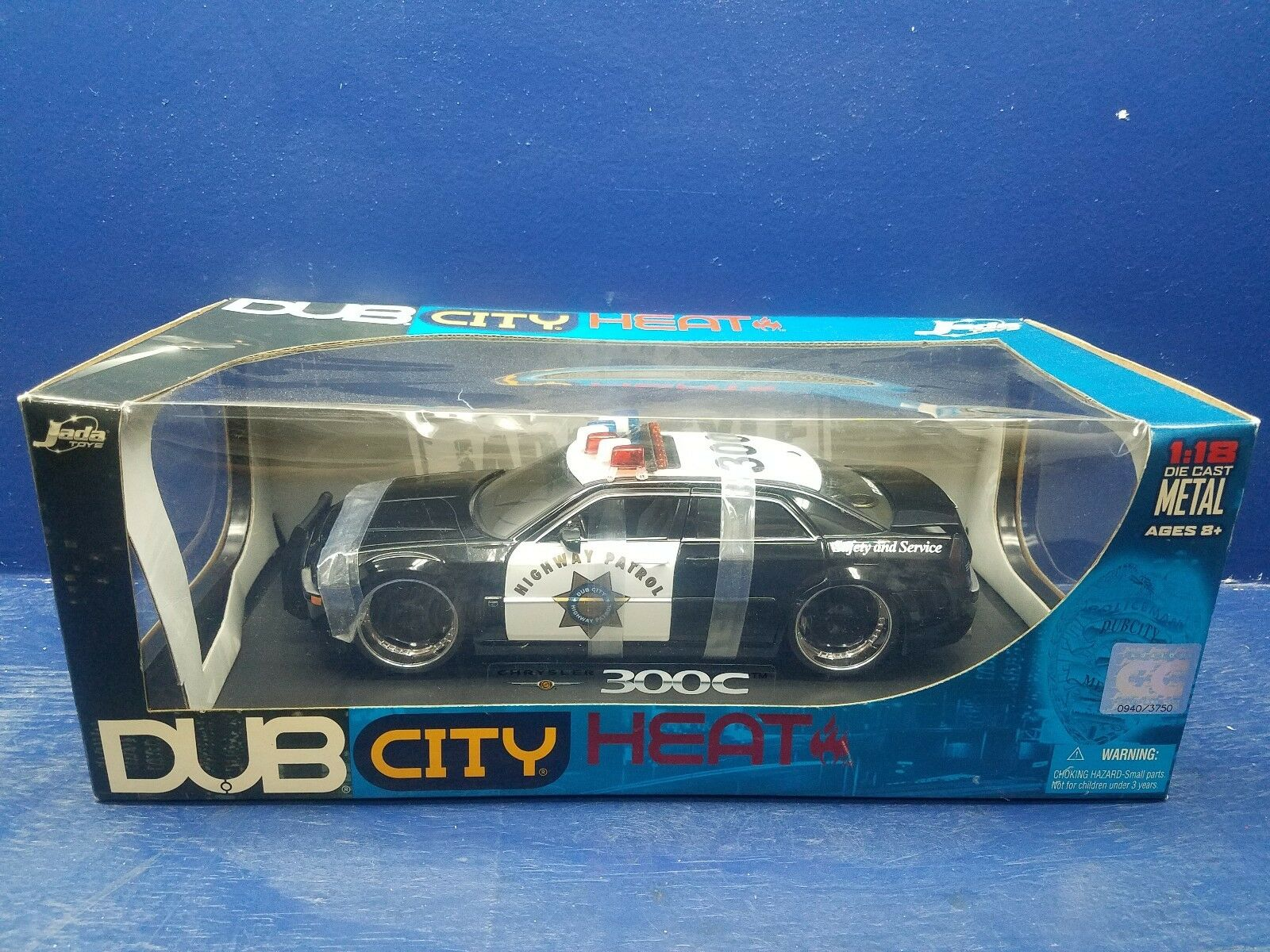 Dub City calor 2006 Chrysler 300C 1 18 Diecast Metal Jada Toys 2005