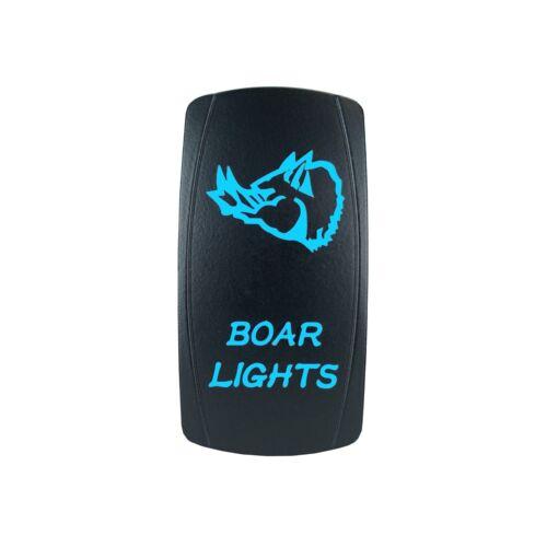 POLARIS RZR XP1000 BACKLIT LASER BLUE BOAR LIGHTS SWITCH UTV ATV