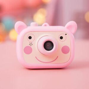 Mini-Kids-Cartoon-Digital-Camera-2-0-034-HD-Without-TF-storage-card-pink