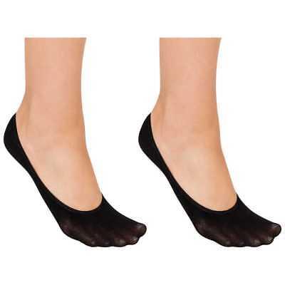 Damas Mujeres Invisible 100% Algodón Chicas manitas No Show Forro Calcetines Paquetes De Zapato