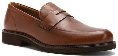 Florsheim Men's Gallo Penny Loafer Slip On Leather Dress Shoes Cognac 13194