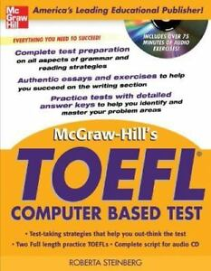 McGraw-Hill-039-s-TOEFL-CBT-with-Audio-CD-McGraw-Hill-039-s-TOEFL-CBT-W-CD-ExLibrary