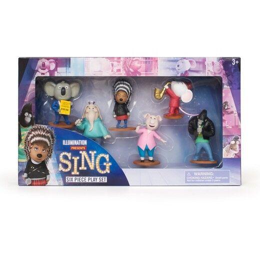 SING ILLUMINATION Six Piece  ⭐Play Set   Authentic toys