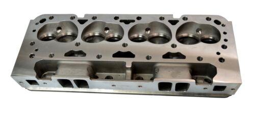 1x ALUMINUM BARE CYLINDER HEADS FOR CHEVY SBC 350 200cc 64cc STRAIGHT SPARK PLUG