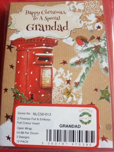 Son,Brother,Grandad,Uncle,Aunt,Cousin,In-laws Christmas Card Packs Wholesale