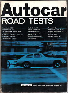 Autocar-Road-Tests-Annual-Autumn-1966-Fiat-Ford-Iso-Jaguar-MG-NSU-Pontiac-Viva