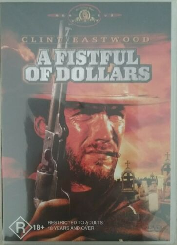 1 of 1 - A Fistful Of Dollars (DVD, 2000)