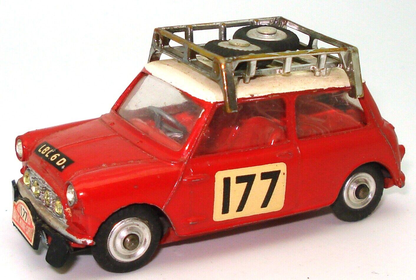 CORGI NO. 339 MORRIS MINI COOPER 'S' MONTE CARLO 1967 - RARE  L2