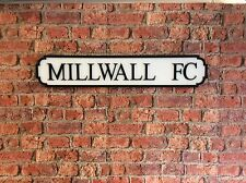 Vintage Wood Street Sign MILLWALL FC