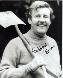 THE-GOOD-LIFE-personally-signed-10x8-RICHARD-BRIERS-a
