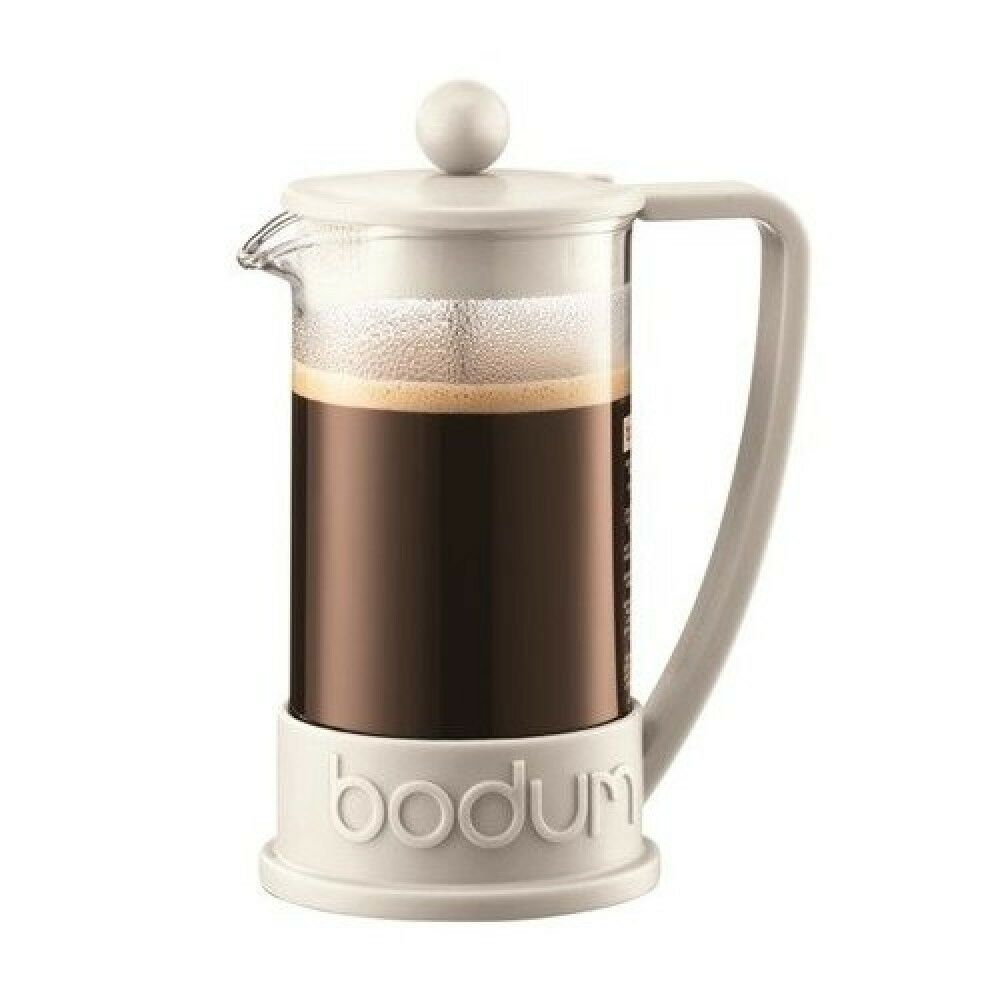 Bodum Brazil Three Cup French Press Coffee Maker - Off White 0.35L from Japan