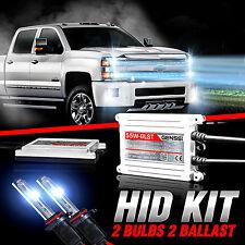 GENSSI HID Xenon Conversion Kit Bulbs For Chevy Silverado 1500/2500 2007-2015