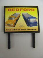 Bedford, Diesel or Petrol - Model Railway Billboard - N & OO Gauge