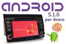 "Autoradio Fiat Bravo 2007-16 ANDROID 5.1 7"" QUADCORE 1.6 GHz USB Bluetooth"