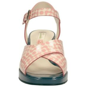 Clarks Orla Sandals Size Floral Pink Bnwt 5 5 Blanche Gift Kiely Women's rrYCxqd