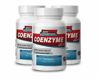 Coenzyme Q-10 Antioxidant. Heart Health, Energy (3 Bottles)