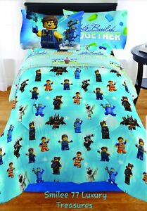 The Lego Movie 2 5pc Twin Bed Set With Bonus Tote