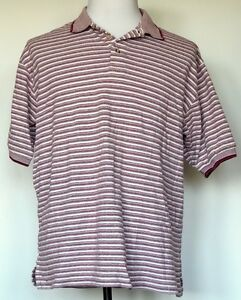 8ffb43bb VTG Brittania by Levi Strauss & Co Dark Red/White Stripe S/S Cotton ...