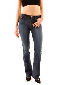 £ da classici 299 818o216 Rrp 26 di donna blu taglia J stivale slim Jeans Bcf611 Brand xAtpO