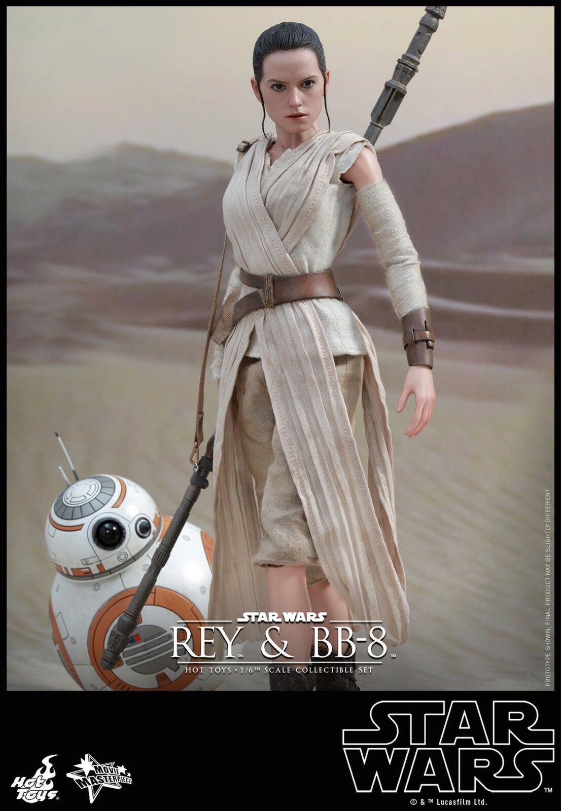 Hot Toys - Star Wars Rey & BB-8 - 1 6 scale figure