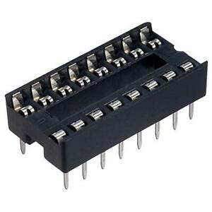 10-x-TruConnect-16-Pin-DIL-Socket-7-62mm-PDIP-IC-Socket