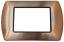 miniatura 54 - Placche Compatibili METALLO Bticino LIVING International 3 4 7 posti vari colori