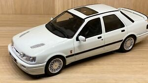Otto-escala-1-18-Ford-Sierra-Cosworth-4x4-Blanco-Diecast-Modelo-Coche
