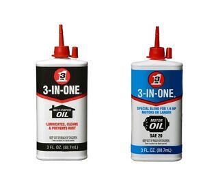 3 In One Oil Multi Purpose Oil 3 In One Sae20 Motor Oil