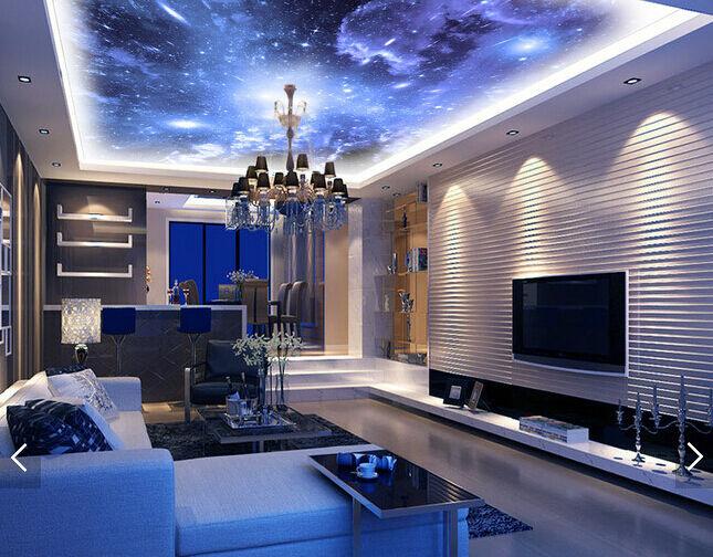 3D Meteor Sky 412 Ceiling WallPaper Murals Wall Print Decal Deco AJ WALLPAPER UK