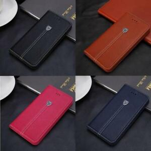 Case-for-iPhone-6-7-8-Plus-5s-SE-XS-Max-Flip-Wallet-Leather-Cover-Magntic-Luxury