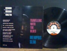 MEMPHIS SLIM  Travelling With The Blues   LP   French   RARE !!