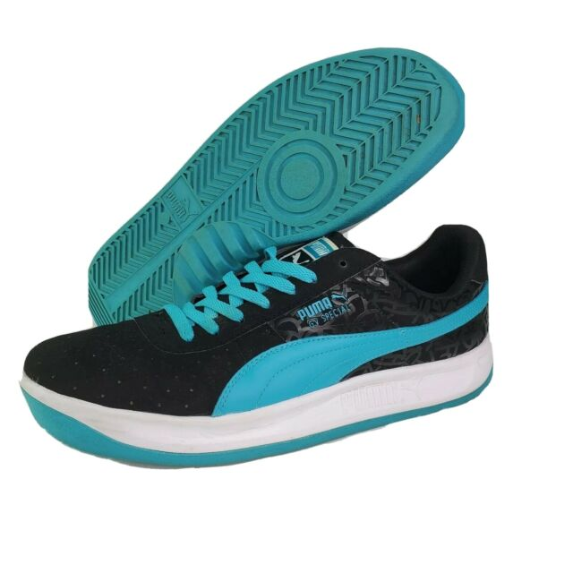 Puma GV Special Mens Size 14 Black Blue White Athletic Sneakers Shoes 35665201