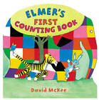 Elmer's First Counting Book by David McKee (Hardback, 2007)