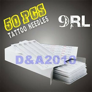 50-pcs-DISPOSABLE-9RL-Round-Liner-STERILE-TATTOO-NEEDLES-ink-machine-supplies