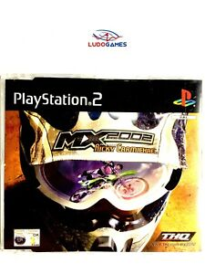 MX-2002-Ricky-Carmichael-Demo-EUR-PS2-Playstation-Videojuego-Mint-Completo