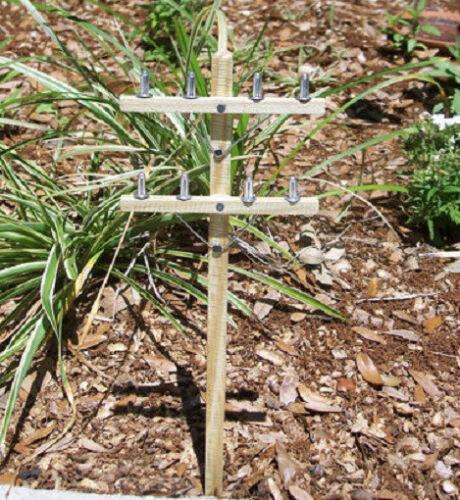 Parties Grave sites THREE Miniature OUTDOOR TELEPHONE POLES //Garden Railroads