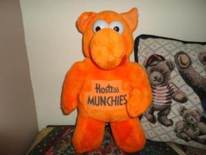 Hostess Munchies Vintage Orange Plush Doll Best Made Toys Toronto Ebay