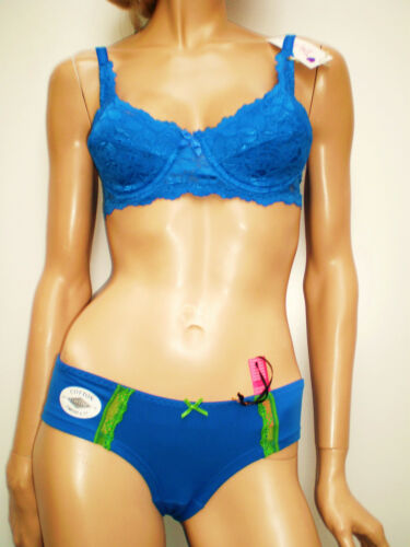 Beautiful Lace Embroidered 90/%Cotton Comfort Briefs Buy`3 get Free Postage UK