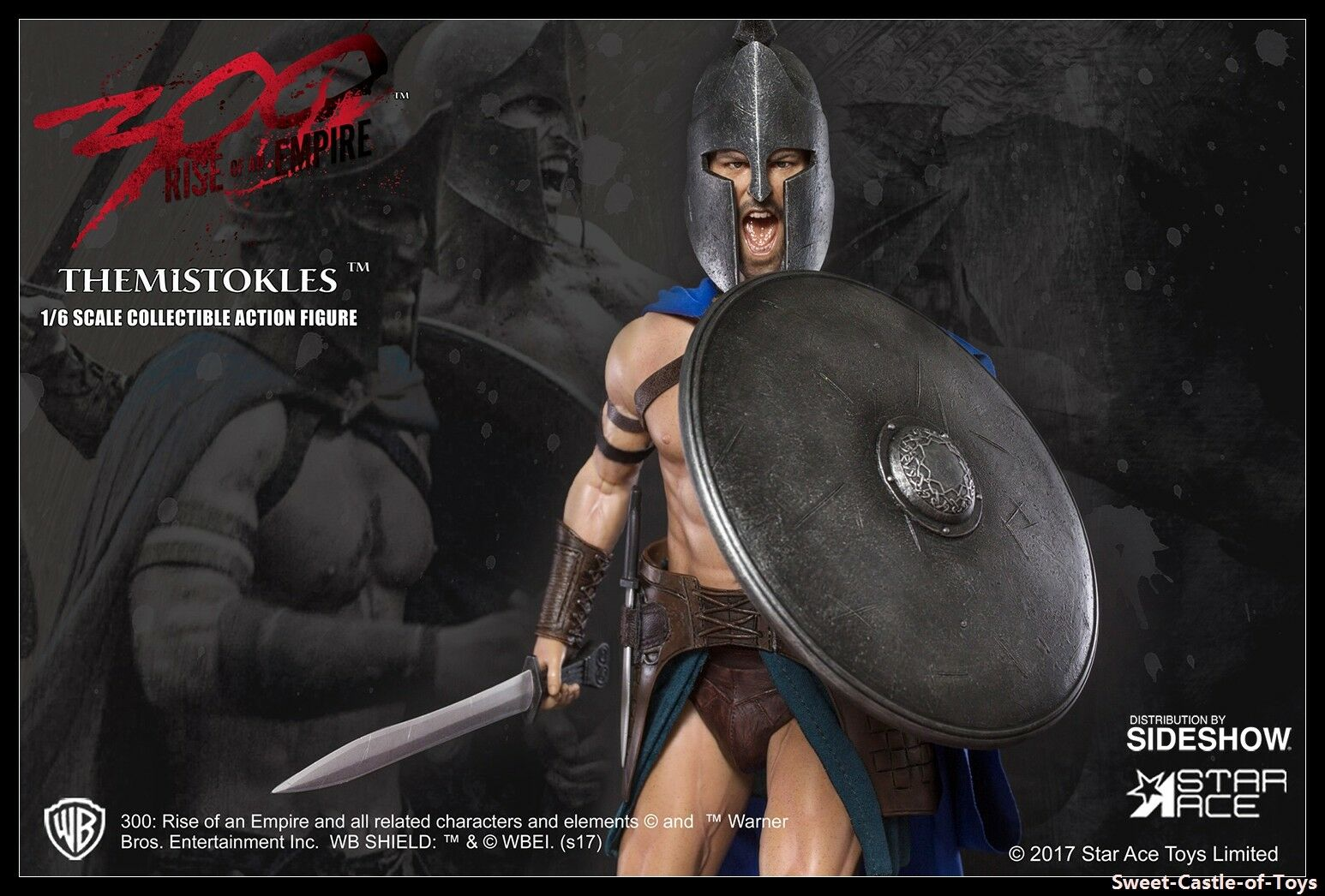 1 6 Star Ace Toys 300 General Themistokles Sparta Collectible Action Figure